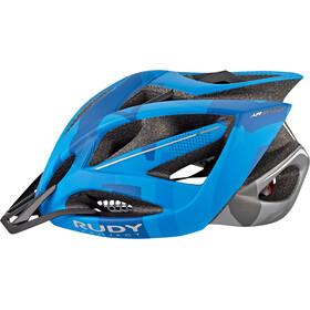 Rudy Project Airstorm MTB Helm blue/titanium camo